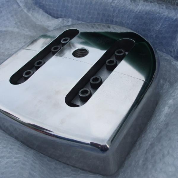 マシニング加工・3次元加工 製品サンプル(SKS) 2部品構成金型